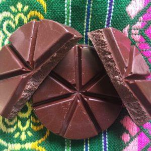 disques chocolat chaud