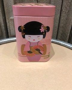 boite geisha rose